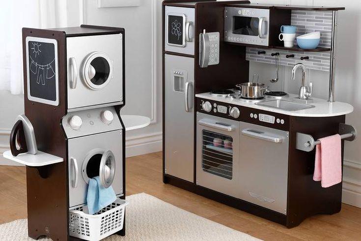 Toy Kitchen Renovation High End Appliances Gourmet Food
