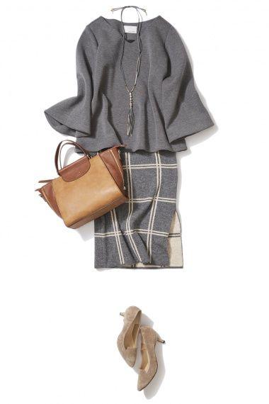 ダブルストライプのリネンフレアスカートで作る夏のスタイルアップ美人コーデ ― B-ファッションコーディネート通販|ビストロ フラワーズ トウキョウ