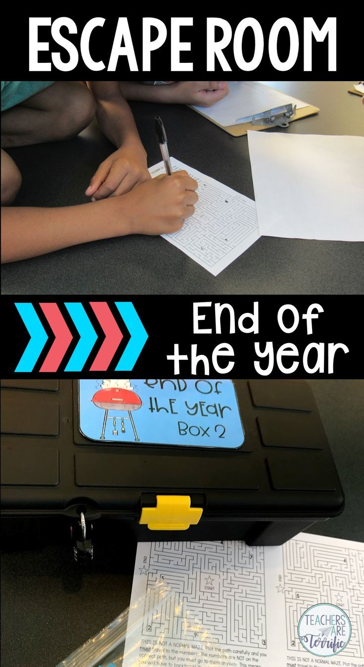 escape room for the end of the year stem tried and true we tested rh co pinterest com