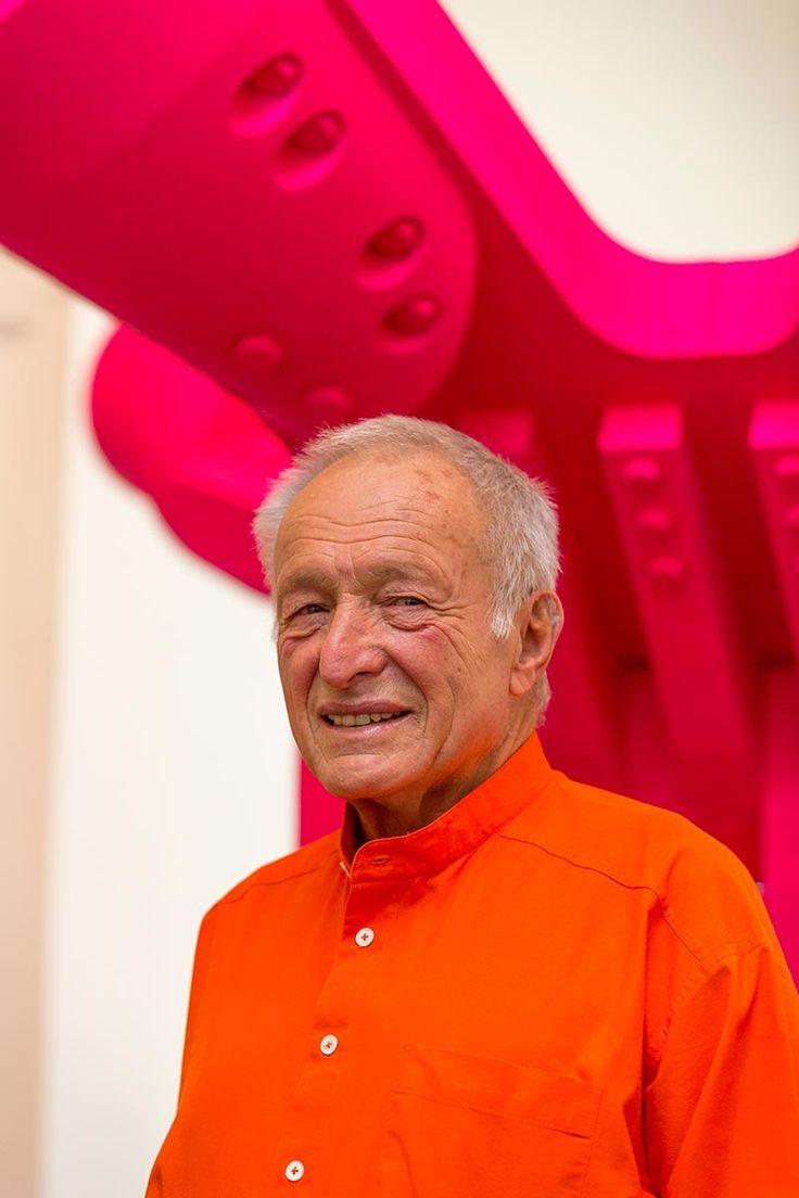 Richard Rogers. Fotografía ©  Benedict Johnson © Rogers Stirk Harbour + Partners/RSHP. Cortesía del Premio Pritzker.