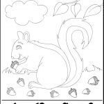 Fall Season: Sing an Acorn Song Activity. Then print the Free Math Worksheet for Kids!