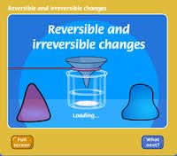Reversible & Irreversible Changes Game