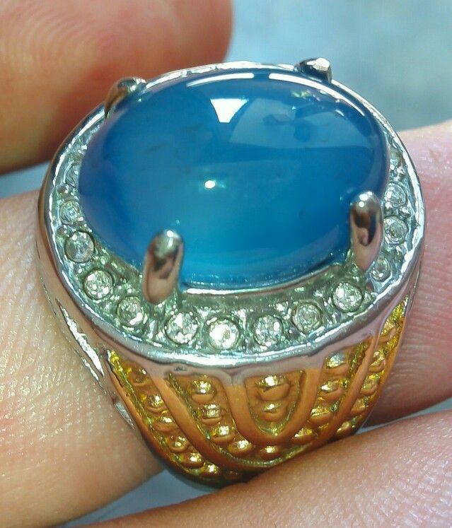 Batu spiritus biru langit Asli dari Baturaja SumSel  Warna biru mempesona  Fenomena batu mulia nusantara