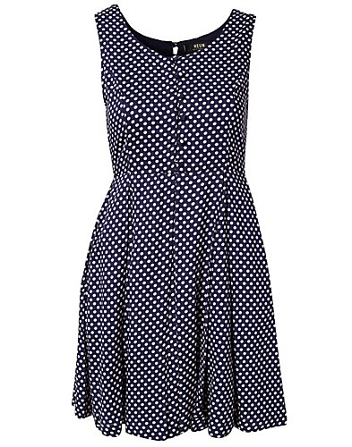 KJOLER - NEUW / POLKA DOT FROCK DRESS - NELLY.COM