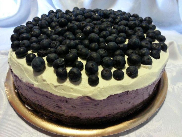 Cheesecake de arándanos! Casi 10 cm de alto!