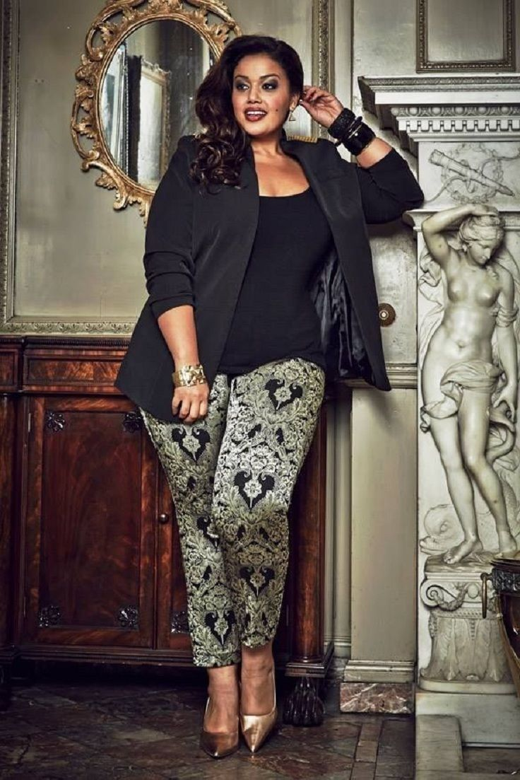 Top 10 Style Tips For Plus Sized Women Beautiful Pants And Love This