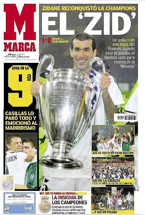 La Novena: Real Madrid 2-1 Bayer Leverkusen (Glasgow). 15/5/2002