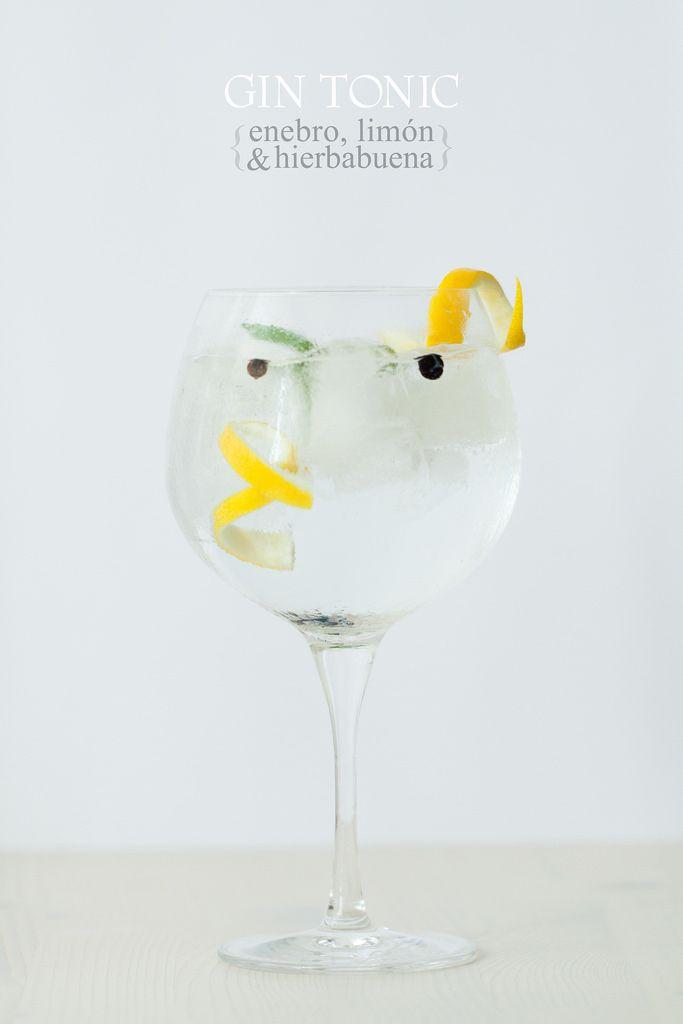 Gin tonic: enebro, limón & hierbabuena - Lost in Cupcakes