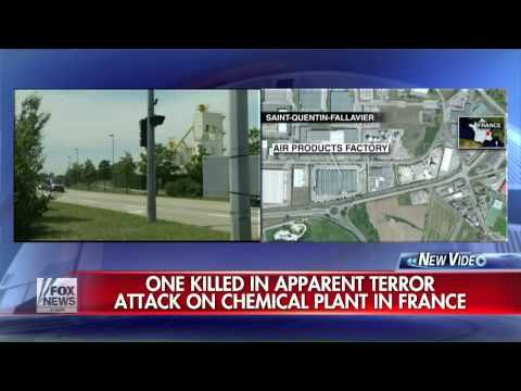 ISIS ISIL DAESH beheading in France attacks also Tunisia&Kuwait breaking news June 28 2015 - YouTube