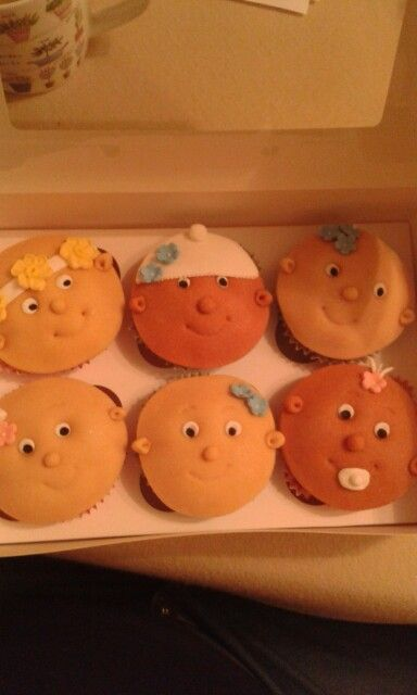 New baby cupcakes by Gill x