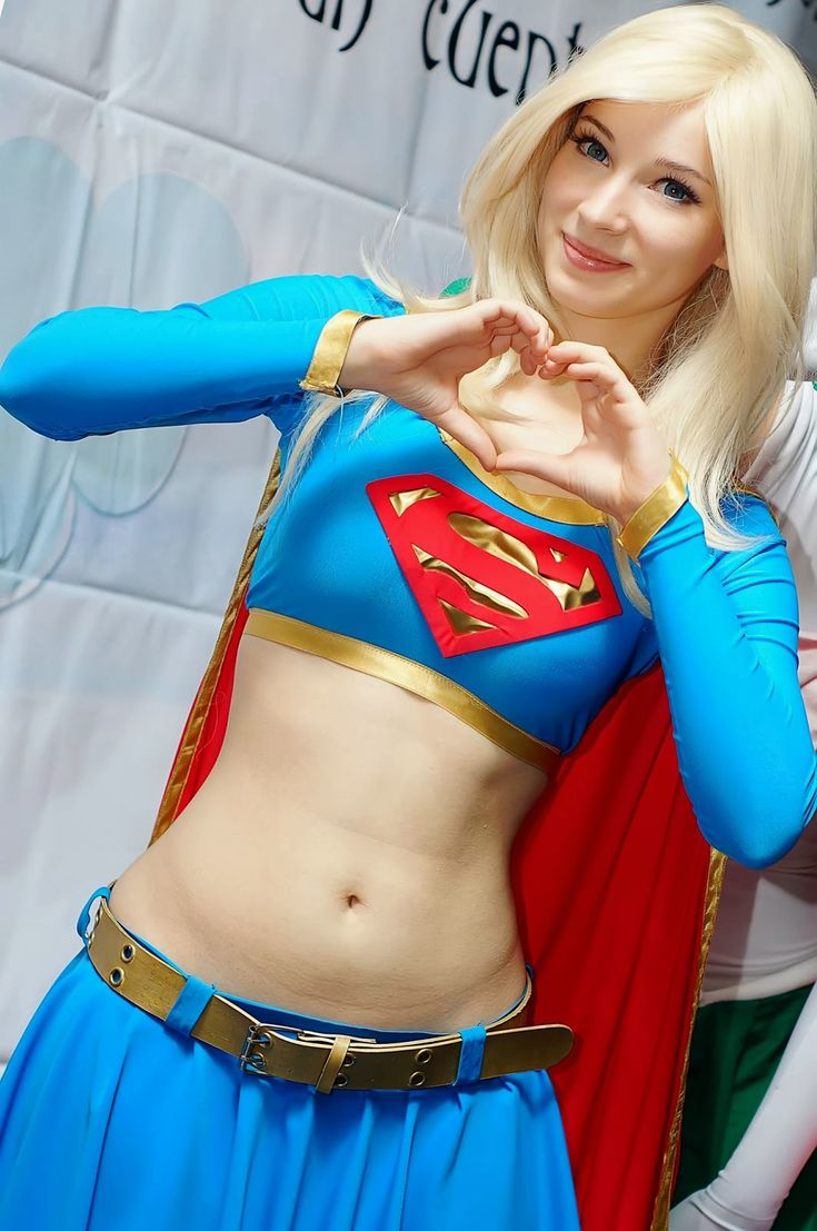 hot sexy naked girls in supergirl costumes