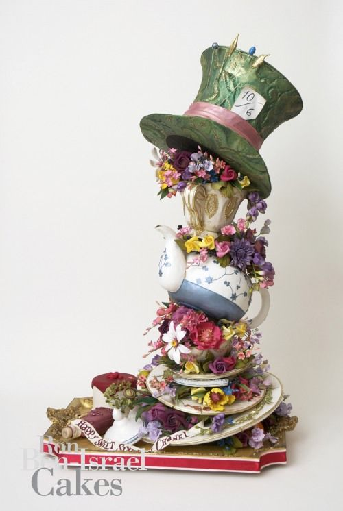 Wow, that's a Mad Hatter cake!