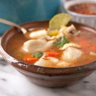 Caldo de Pollo (Homemade Chicken Soup)