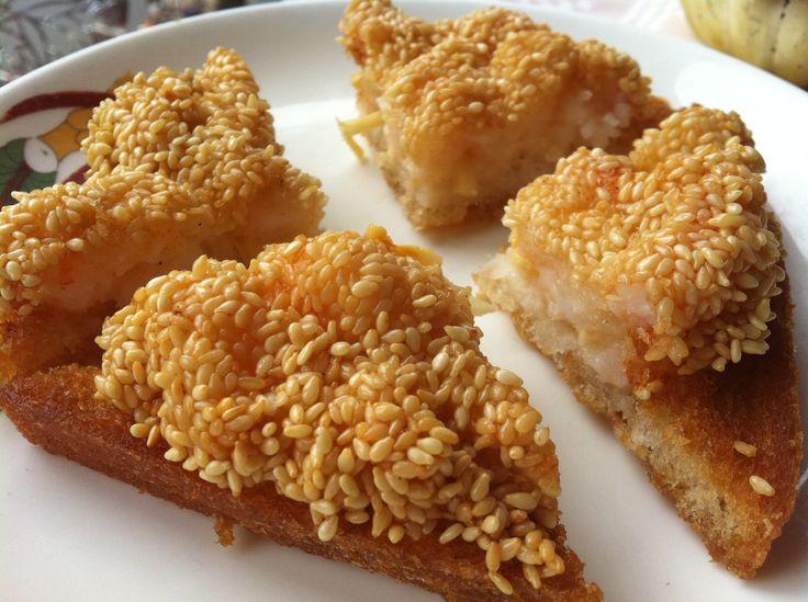 Shrimp Toast ,Oriental City, Amsterdam | Asian | Pinterest
