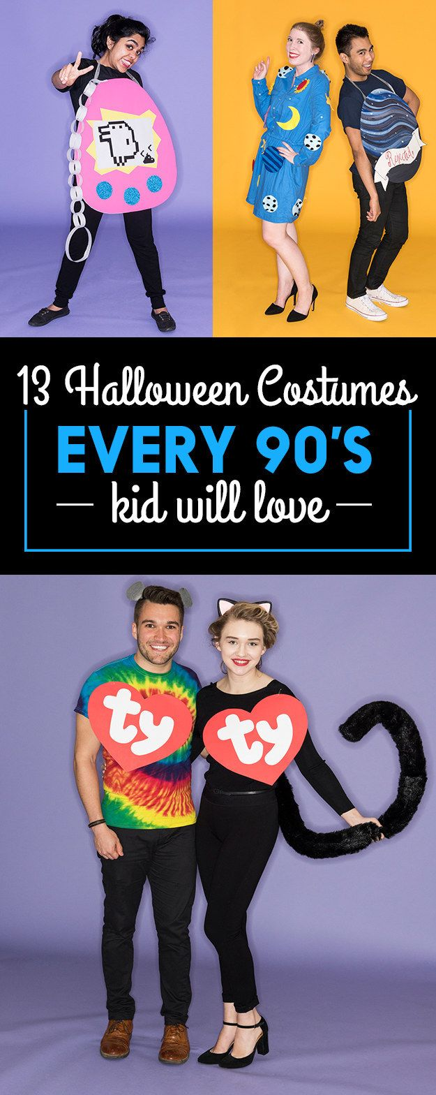 13 Amazingly Fun Halloween Costumes For '90s Kids