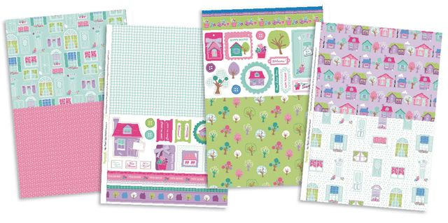 FREE No Place Like Home papers to download from issue 97! | Papercraft Inspirations