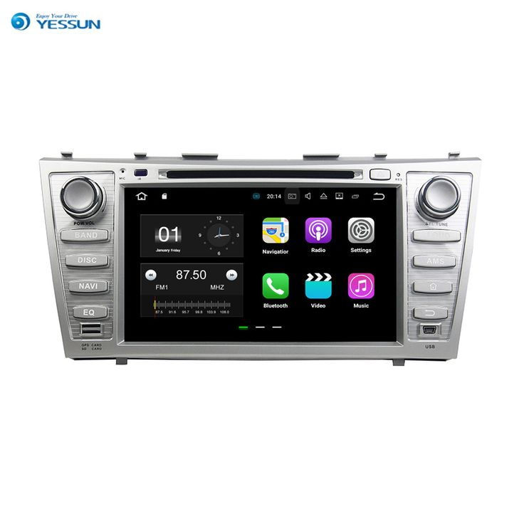 YESSUN For Toyota Camry 2007~2011 Android Car Navigation GPS Audio Video Radio Stereo Multimedia HD Touch Screen Player.. Yesterday's price: US $455.00 (372.78 EUR). Today's price: US $391.30 (320.24 EUR). Discount: 14%.