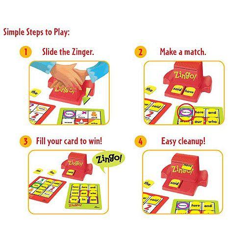 How to play Zingo Sight Words