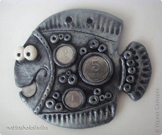 Картина панно рисунок Свадьба Лепка Мишки Тедди и денежная рыбка соленое тесто Тесто соленое фото 4