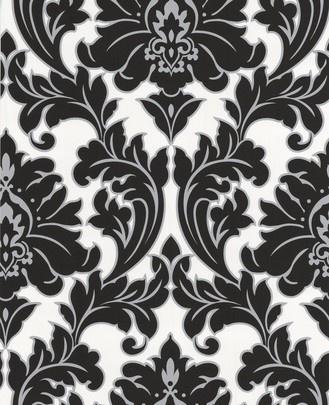 Wallpaper Inn Store - Majestic - Black, Silver