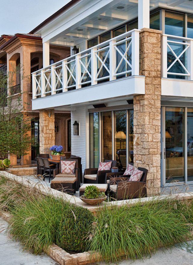 1000 ideas about beach house deck on pinterest house for Beach cottage exterior design