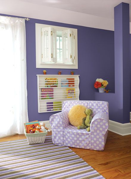 Kid Bedroom Paint Ideas: 15 Must-see Purple Kids Bedrooms Pins