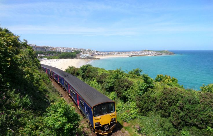 Get St Ives Bay Line train times and travel advice. It's one of the most scenic branch lines in Britain, sweeping along the coast past golden beaches.