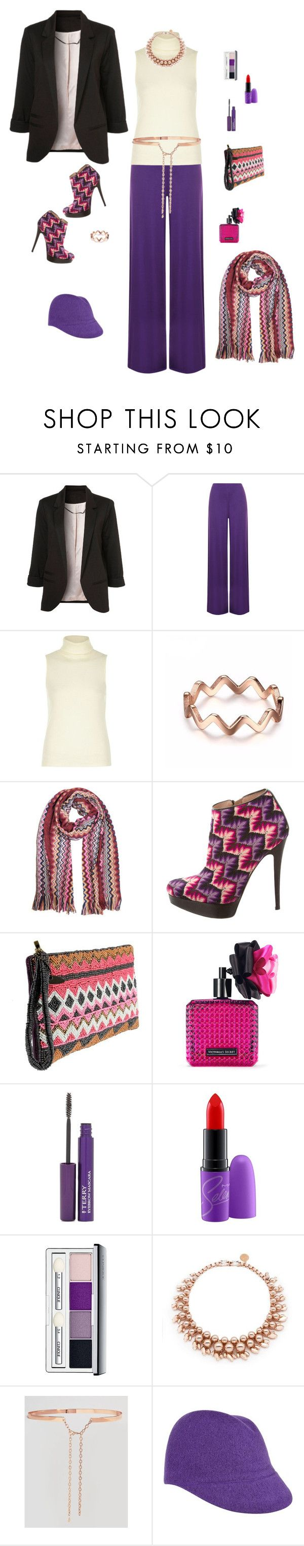 """""""Mmm...mmm"""" by lmello ❤ liked on Polyvore featuring WearAll, River Island, Missoni, Mary Frances Accessories, Victoria's Secret, By Terry, MAC Cosmetics, Clinique, Ellen Conde and Johnny Loves Rosie"""