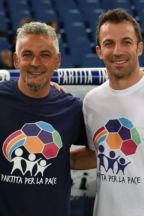 Roberto Baggio & Alex Del Piero Legends
