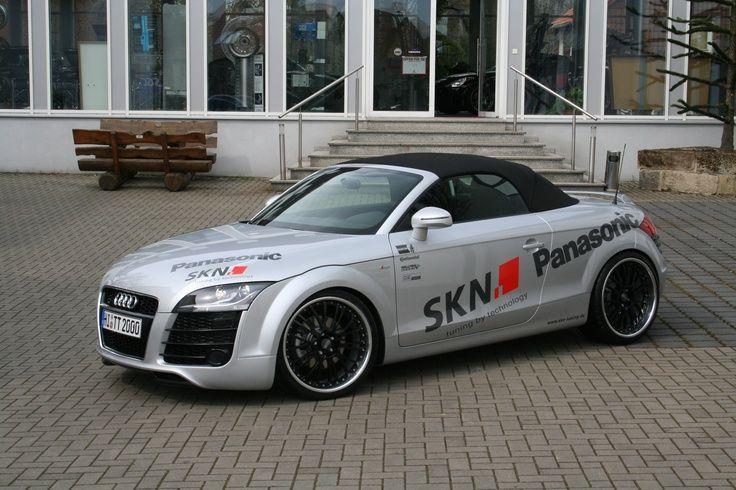 Cool Audi: SKN Audi TT 2.0 TFSI Roadster...  SKN Audi TT 2.0TFSI Coupe / Roadster (8J) Check more at http://24car.top/2017/2017/07/21/audi-skn-audi-tt-2-0-tfsi-roadster-skn-audi-tt-2-0tfsi-coupe-roadster-8j-6/