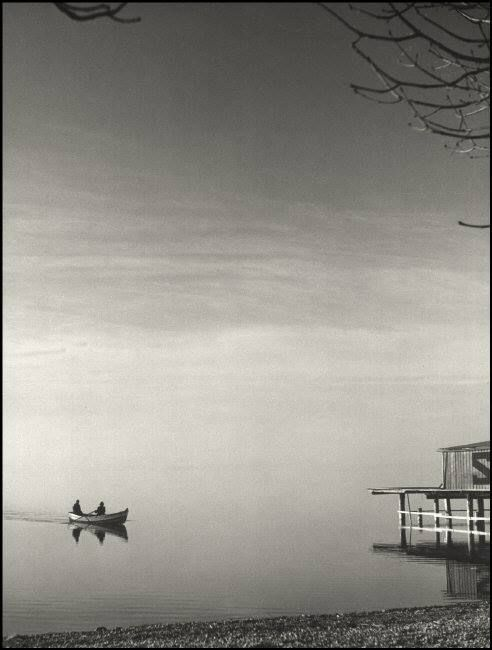 Lago Ammer, Baviera, 1934 / Foto: Herbert List