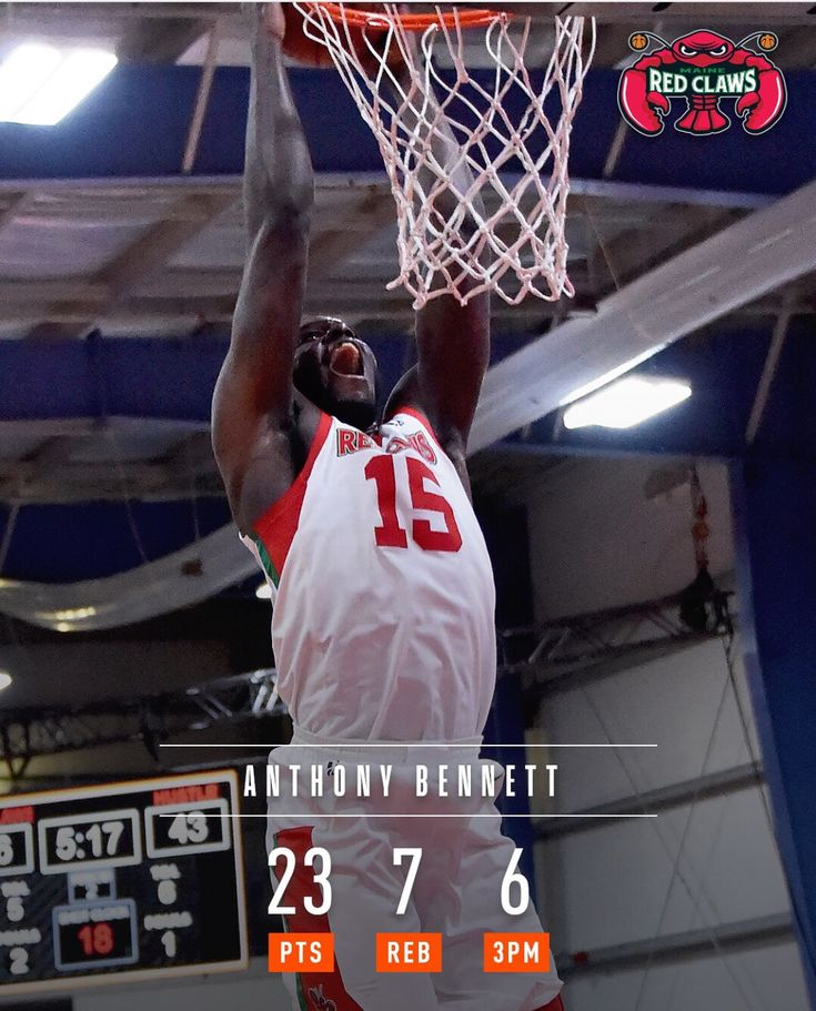 Anthony Bennett former number one pick is back state side playing with Maine red claws. He has progressed a 3 point shot. Maybe on a roster by next season in league.