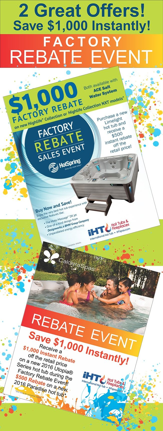 get off all highlife collection models from hot spring spas during the factory