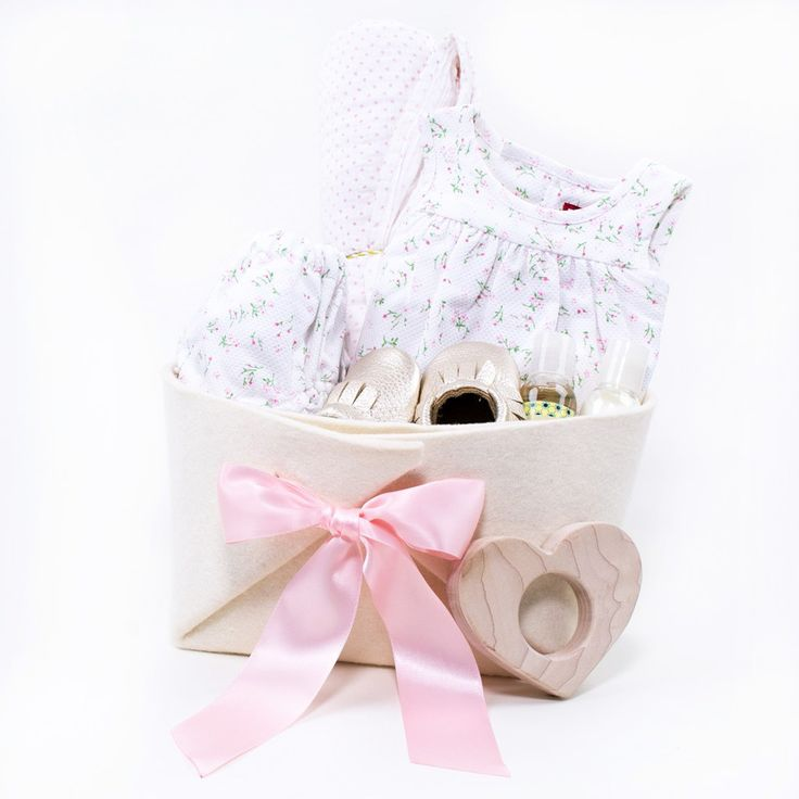 Baby Gift Baskets Vancouver Canada : Unique baby girl gift baskets ideas on