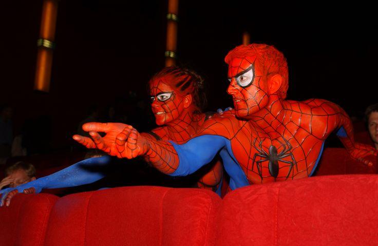 #Spiderman #Bodypainting #senjocolor