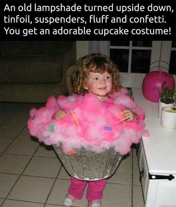 DIY cupcake costume