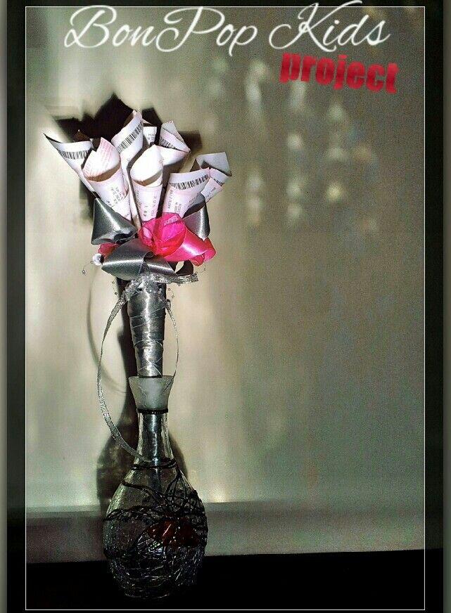 Bukiet Lotto - silver.pink 50pln