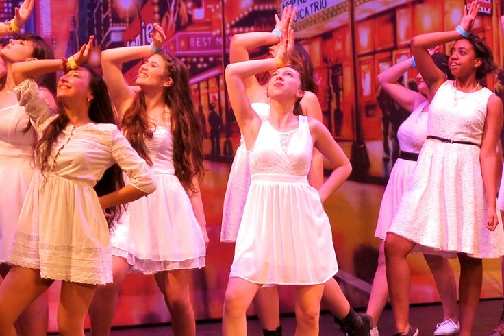 The Most Popular High School Plays And Musicals Cast members of Notre Dame Academy's Godspell perform during the fifth annual Minty Awards for high school theater at the St. George Theatre on Staten Island, N.Y.