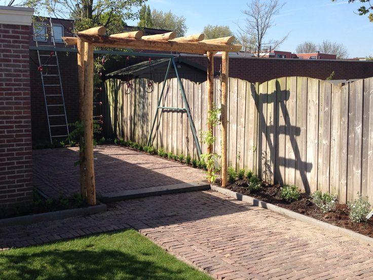 1000 idee n over kleine pergola op pinterest patio achtertuin patio en pagode patio - Bedekking voor pergola ...