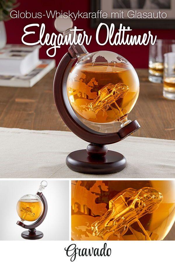 Whisky Karaffe Globus Auto Design Whiskyflasche Manner
