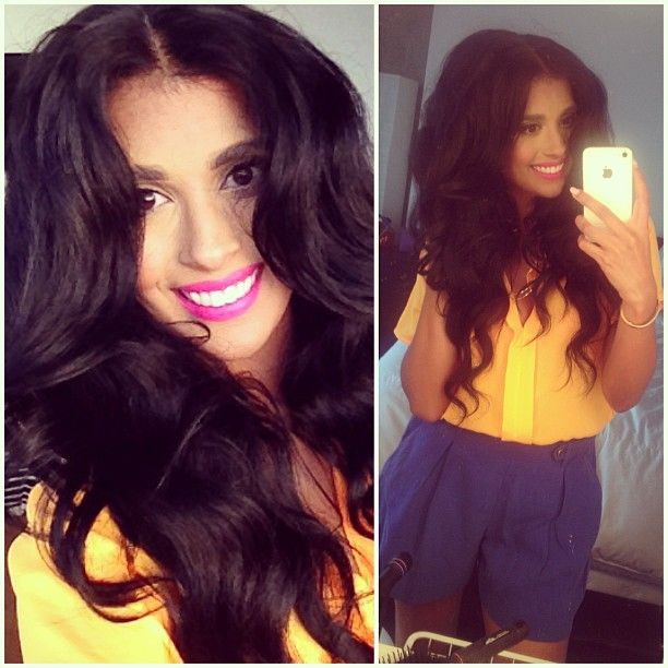 315 best happy leyla milani hair customers images on pinterest drowning in hair styled with my nume style products 25mm iron volumized pmusecretfo Gallery