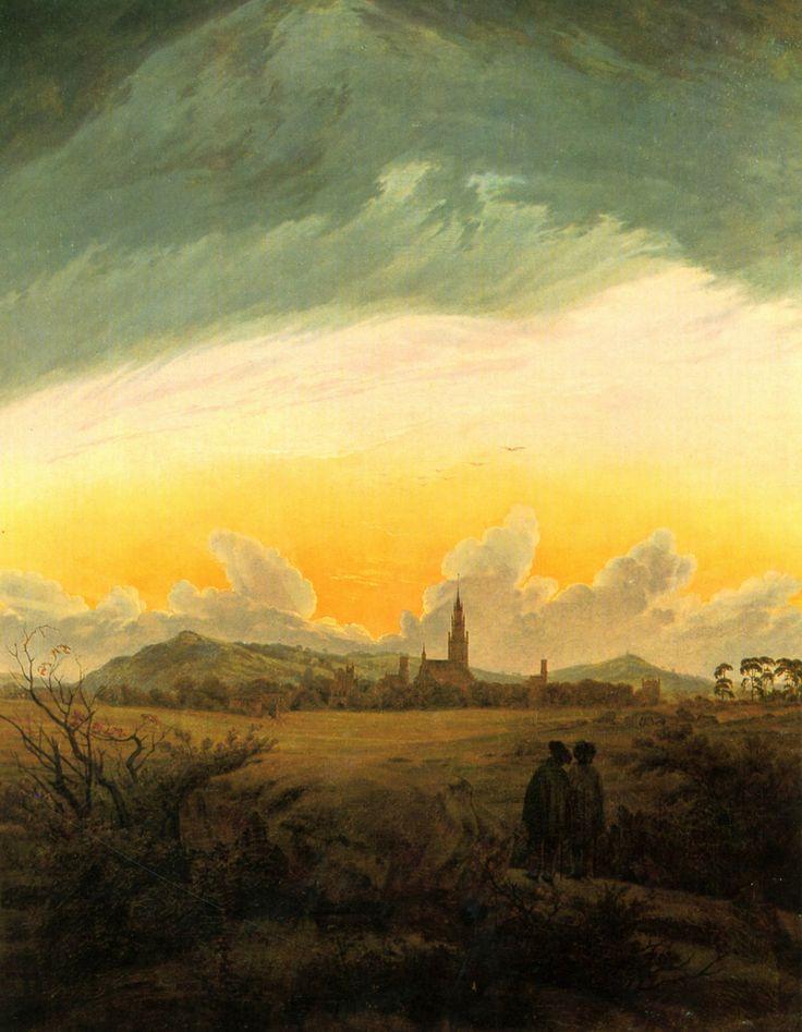 Neubrandenburg - Caspar David Friedrich