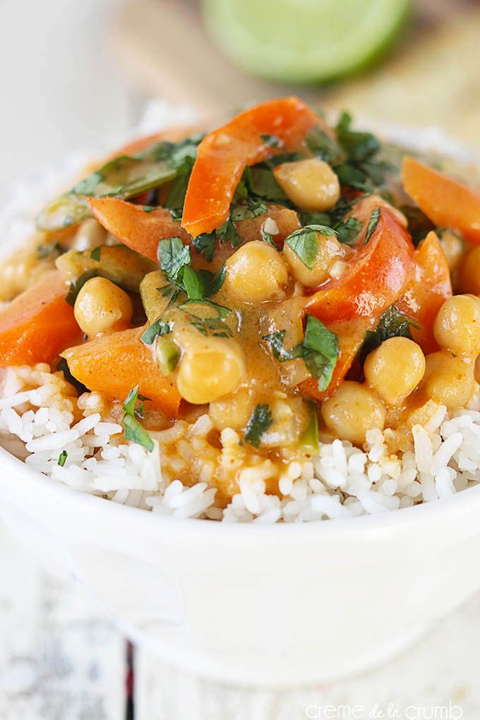 Chickpea Curry {Vegetarian}