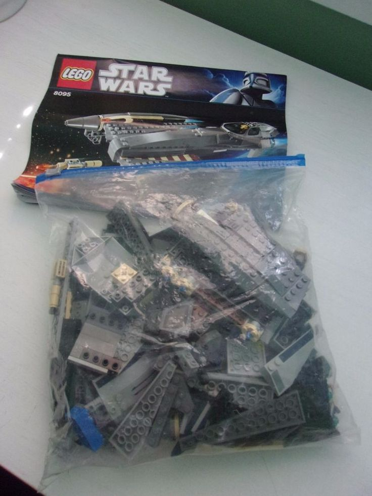 LEGO Star Wars General Grievous 8095 Starfighter with Manual Used Loose #Lego