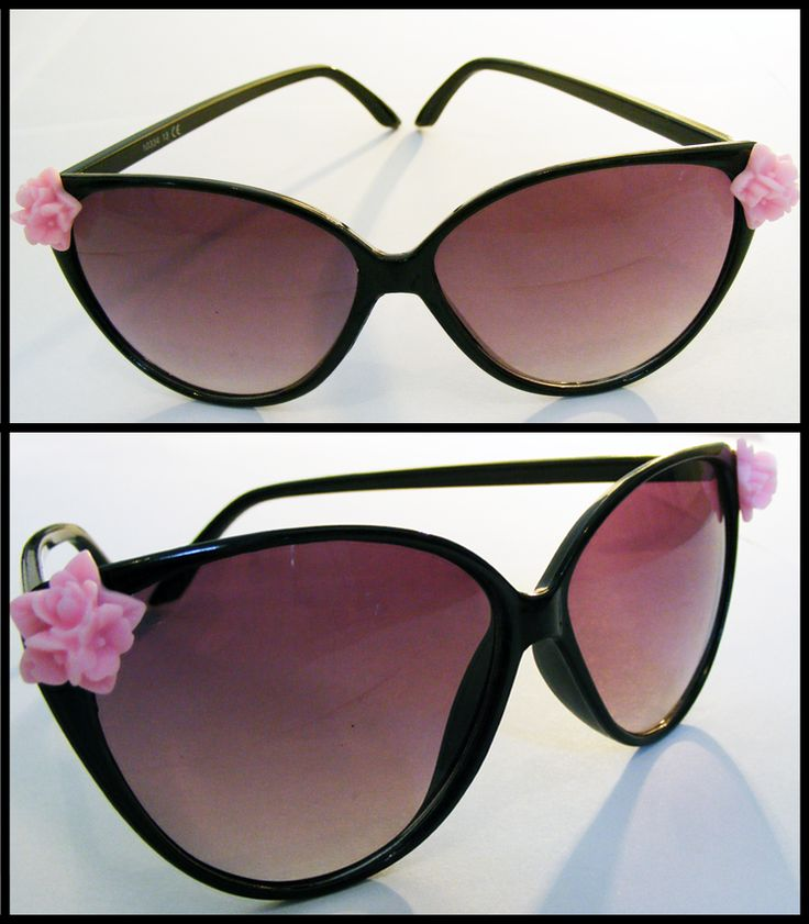 Aloha: Perfect for lounging poolside, these pretty cateye sunglasses are the perfect summer holiday accessory!