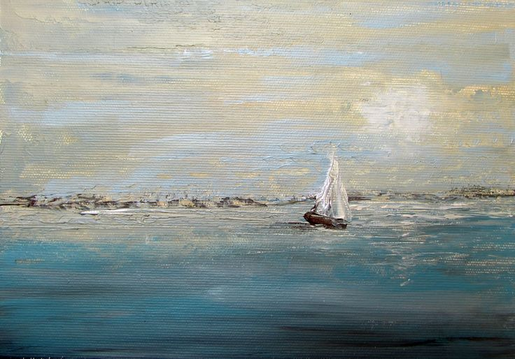 Obrazy olejne, marynistyka by Sylwia Michalska