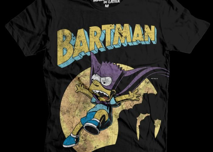 Bartman Hombre #Bartman #Bart #TheSimpsons #MascaraDeLatex
