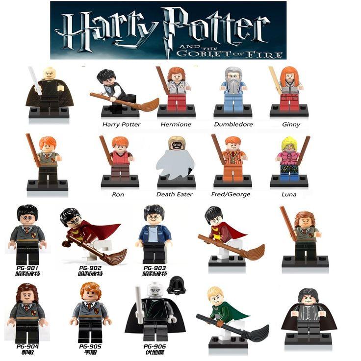 Unique Vente Harry Potter Figurines Hermione Granger Ron Seigneur Voldemort Draco Malfoy Blocs Cadeau Enfants Jouets legoing