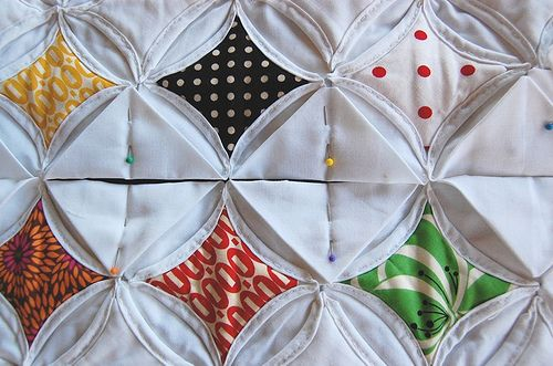Wonderful Tutorial The Cathedral Window Quilt Pattern Is