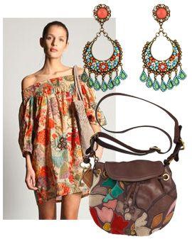 boho styleLittle Dresses, Fashion Style, Bohemian Chic, Boho Clothing, The Dresses, Bohemian Style, Floral Dresses, Boho Fashion, Boho Bohochic
